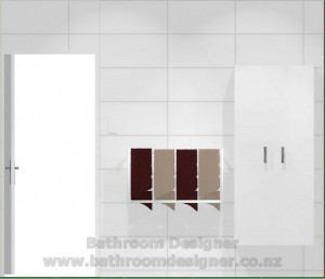 bathroom tiled walls tiled shower west