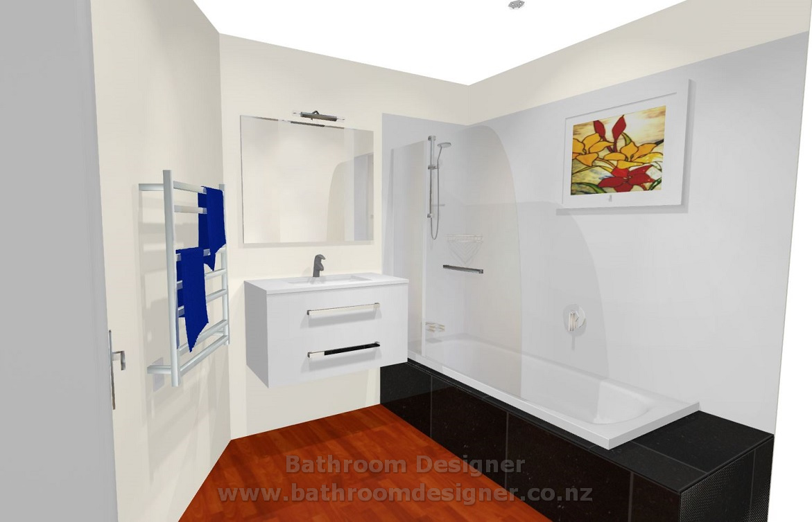 Small Bathroom Design Photos 3D View 4