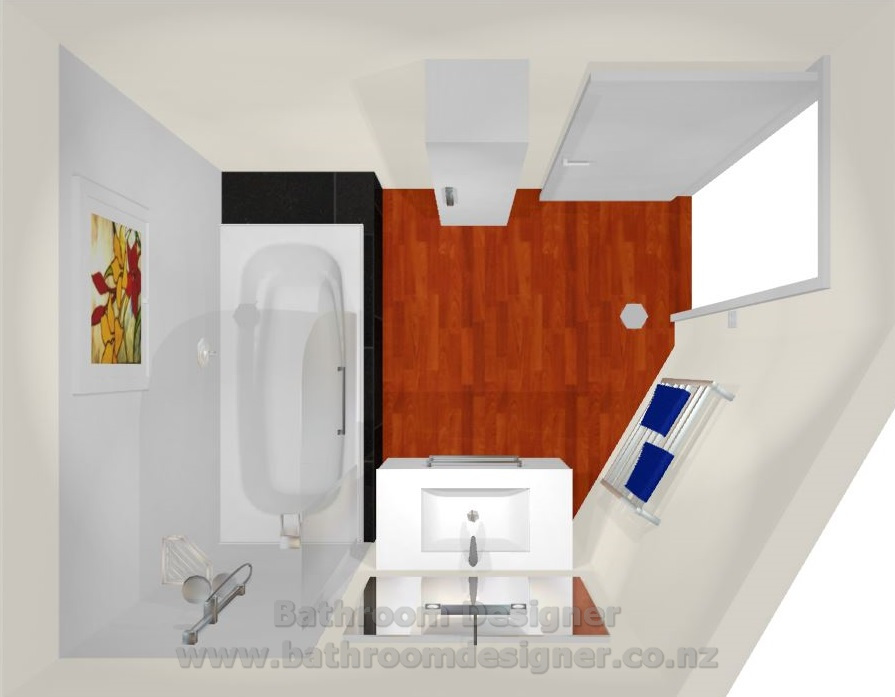 Small bathroom design photos for Small bathroom designs nz
