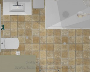 Small Bathroom Layout Plan