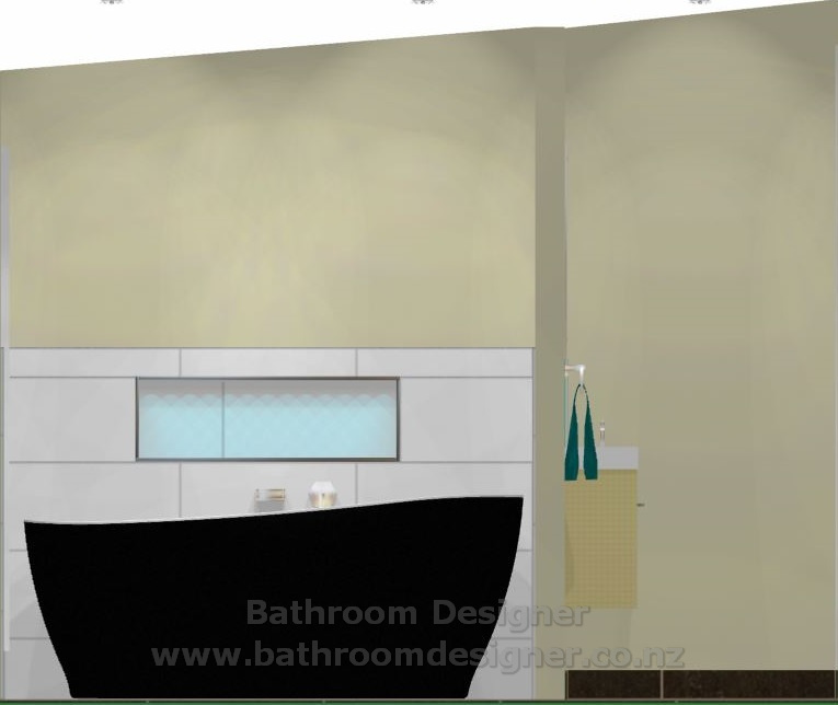 Bathroom & Toilet Design Ideas - East wall