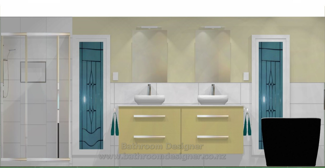 Bathroom & Toilet Design Ideas - North Wall