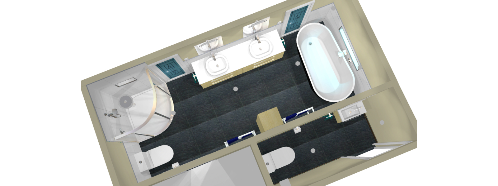 Bathroom designer we design your new bathroom for Toilet and bath design