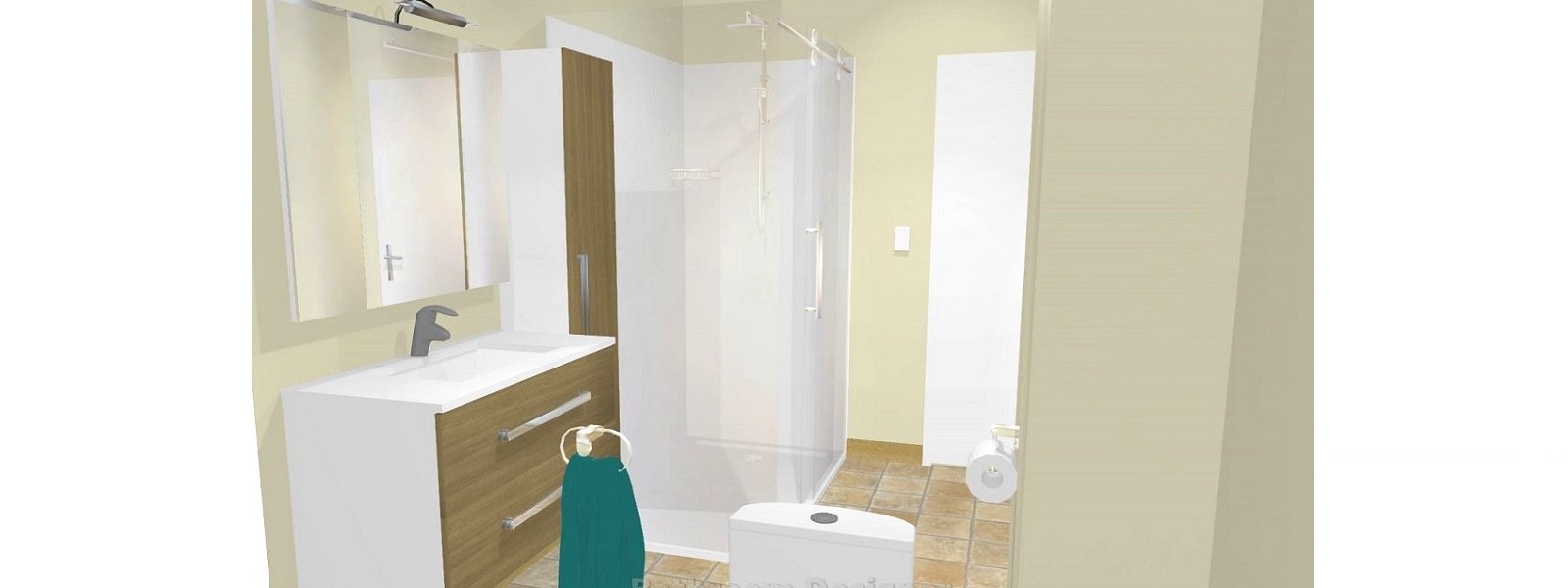 Bathroom designer we design your new bathroom for Small bathroom designs nz